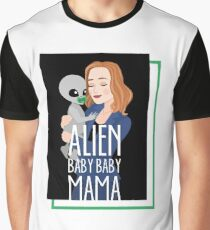 The X-Files - Alien Baby Baby Mama Graphic T-Shirt