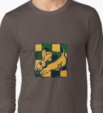 YELLOW DOG JUMP FLY Long Sleeve T-Shirt