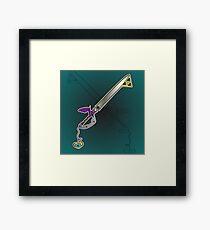 Master Keyblade Framed Print