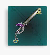 Master Keyblade Canvas Print
