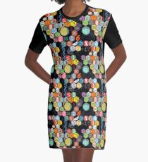 Math in black! Graphic T-Shirt Dress
