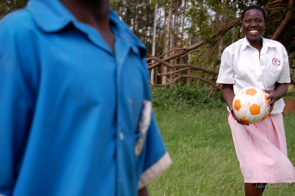 Ugandan Soccer Field by Jake Carroll