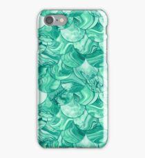 Emerald scales iPhone Case/Skin
