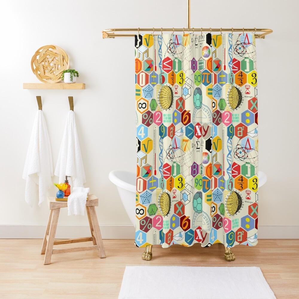 MATH! Shower Curtain