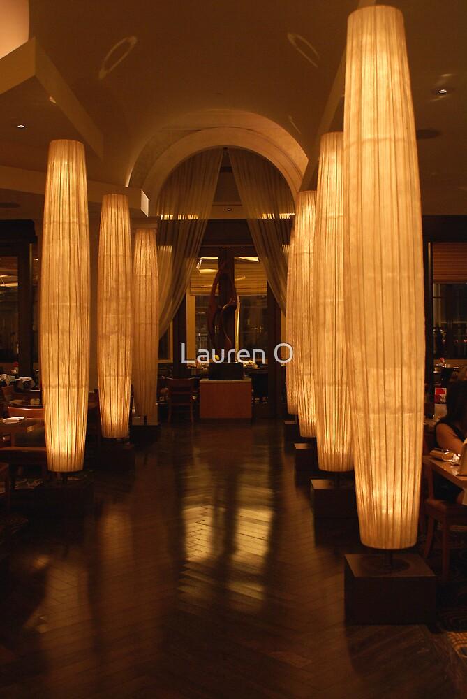 Lit Columns by Lauren O