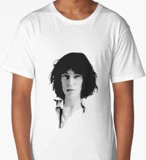 Patti Smith Silhouette 4 Long T-Shirt