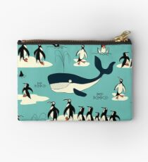 Whales, Penguins and other friends Studio Pouch