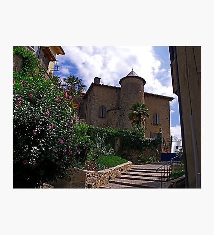 The Chateau at Seix Photographic Print