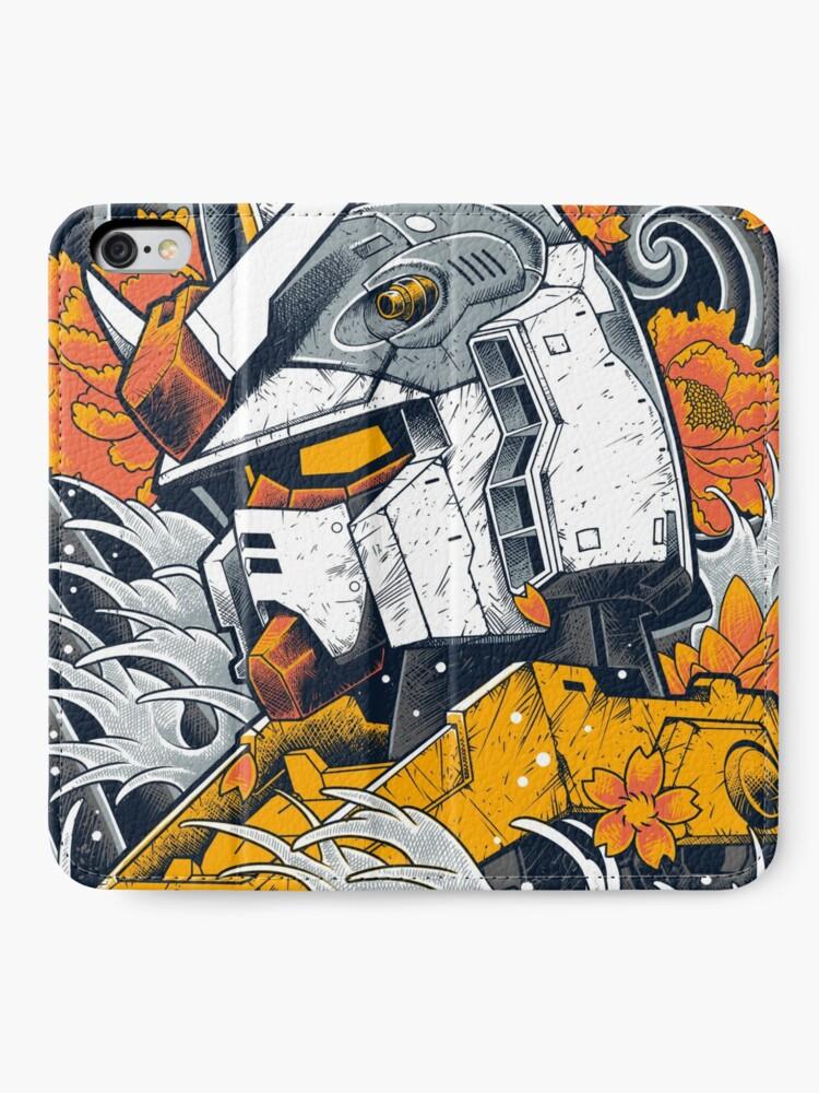 Alternate view of Gundam iPhone Wallet