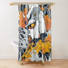 Gundam Shower Curtain