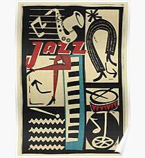 the jazz rythm Poster