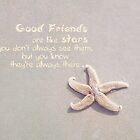 Good Friends are like stars by Barbny