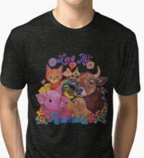 Love all Animals  Tri-blend T-Shirt