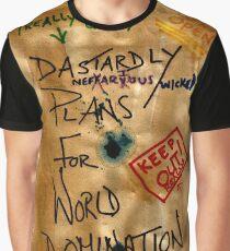 Dastardly Plans Graphic T-Shirt