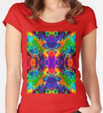 Ebru Oil. Women's Fitted Scoop T-Shirt