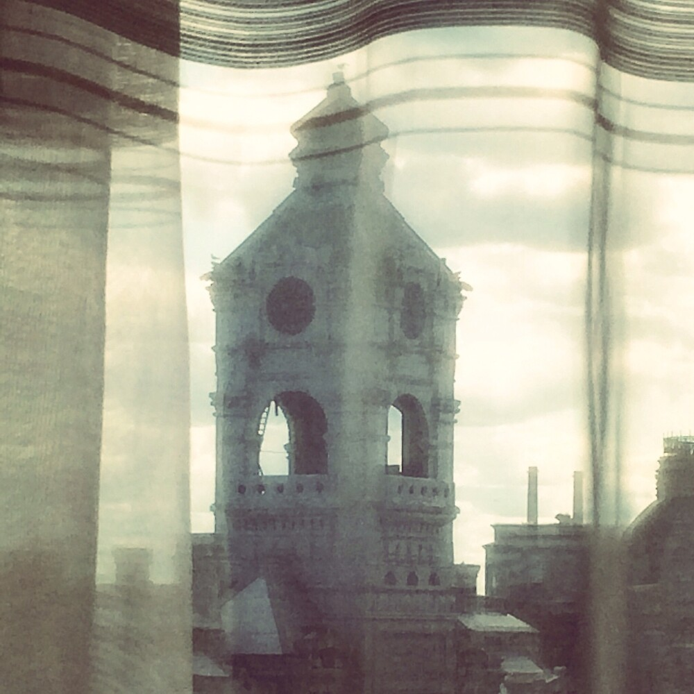 Church tower dreams by Hickoryhill