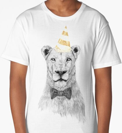 Get the party started (color) Long T-Shirt