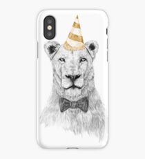 Get the party started (color) iPhone Case/Skin
