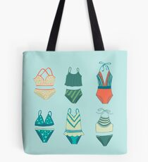 Swim Suits Tote Bag