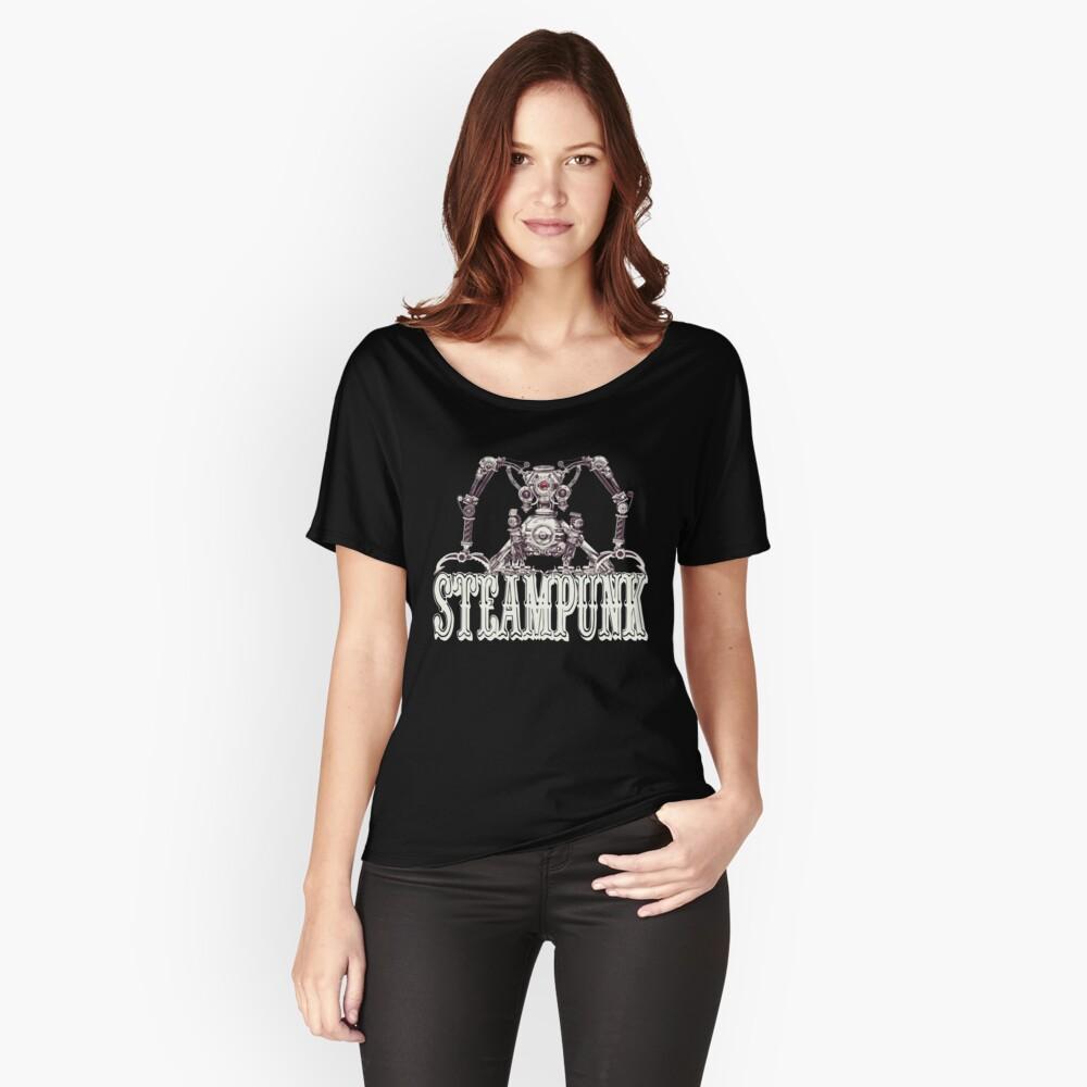 Steampunk / Cyberpunk Robot Steampunk T-Shirts Relaxed Fit T-Shirt
