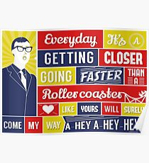Everyday - Buddy Holly Poster