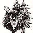 Spirit Deer by inkedinred
