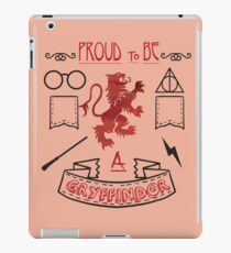 Proud to be a Gryffindor iPad Case/Skin
