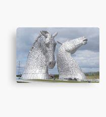 The Kelpies gifts , Helix Park, Scotland Metal Print