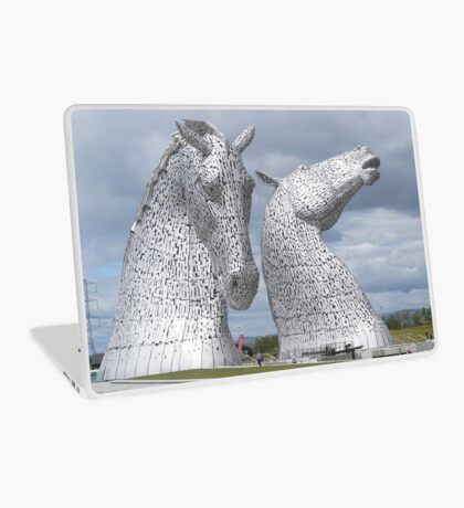 The Kelpies gifts , Helix Park, Scotland Laptop Skin