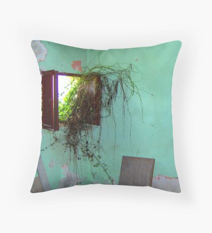' let me grow in '  Throw Pillow