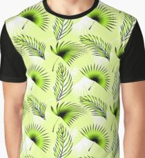Floral pattern with palms leaves Graphic T-Shirt