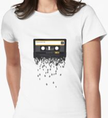 The death of the cassette tape. Womens Fitted T-Shirt