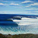 Bell's Beach, Australia by Clark Takashima