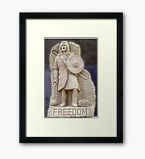 Braveheart - William Wallace Framed Print