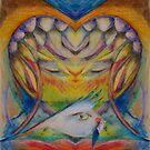 Self with Bird by CrismanArt