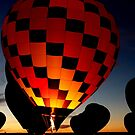 Glowing air balloon by Forget-me-not