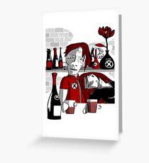 drunker@bar Greeting Card