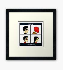 Robinz - Sidekick Days Framed Print