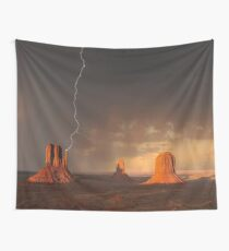 Lightning Strike Wall Tapestry