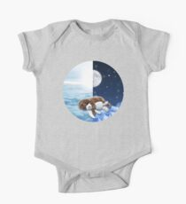 Puppy Dreaming Daytime to Nighttime One Piece - Short Sleeve
