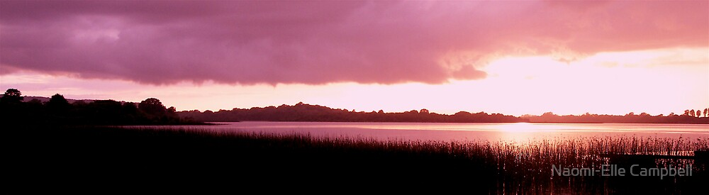 Pink Sunset by Naomi-Elle Campbell