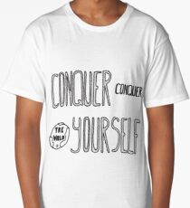 Conquer Yourself Long T-Shirt