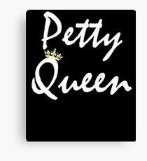 Petty Queen  Canvas Print