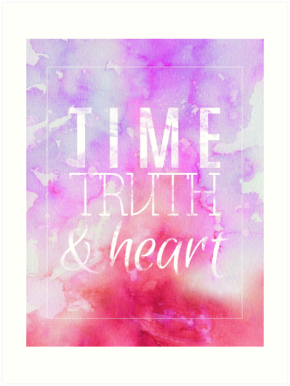Time, Truth, & Heart by Eny G.