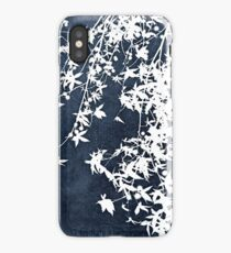 denim blue iPhone Case/Skin