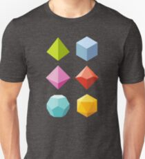 Roll Color - Dungeons & Dragons Line Art Series T-Shirt