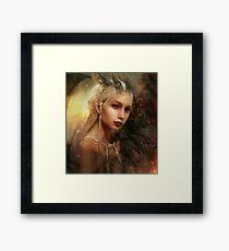 Daenerys Targaryen Framed Print