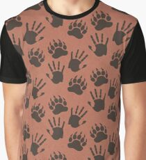 Bear With Me Pattern Graphic T-Shirt