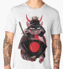 Samurai Cat Men's Premium T-Shirt