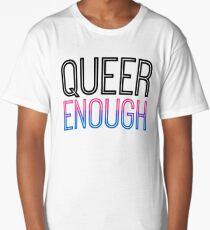 Bi Pride - QUEER ENOUGH Long T-Shirt